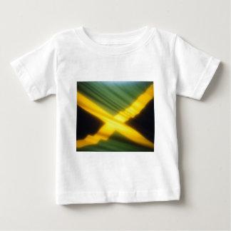 Jamaika-Flagge Baby T-shirt