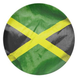 Jamaika-Flagge Melaminteller