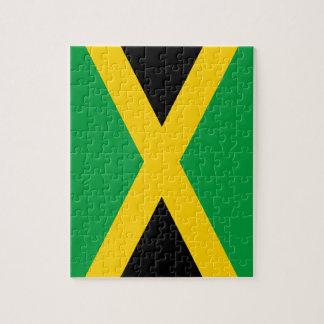 Jamaika-Flagge Puzzle