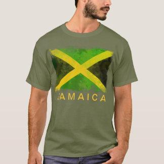 Jamaika-Flagge - Reggaewurzeln T-Shirt