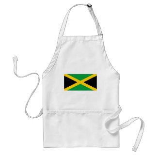 Jamaika-Flagge Schürze