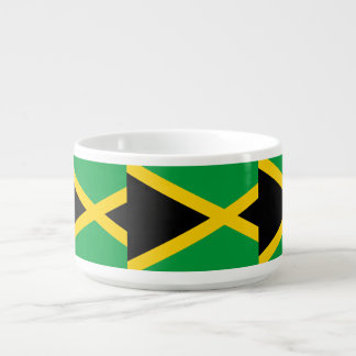 Jamaika-Flagge Schüssel