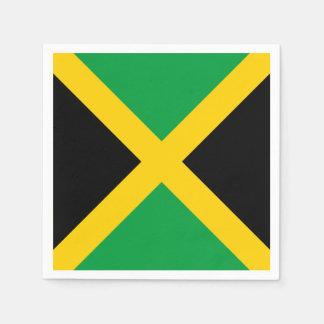 Jamaika-Flagge Serviette