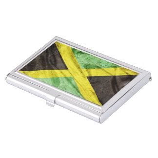 Jamaika-Flagge Visitenkarten Dose