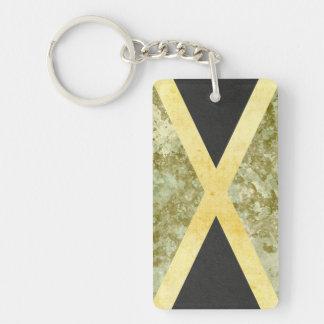 Jamaika-Flaggen-Schlüsselketten-Andenken Schlüsselanhänger