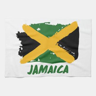 Jamaika-Flaggenentwurf Handtuch