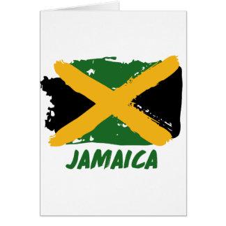 Jamaika-Flaggenentwurf Karte