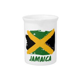 Jamaika-Flaggenentwurf Krug