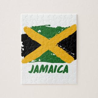 Jamaika-Flaggenentwurf Puzzle