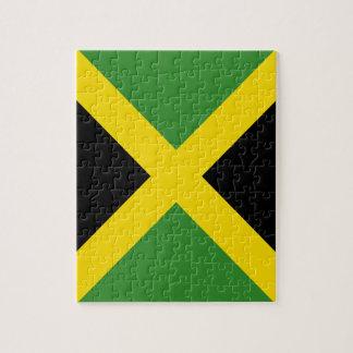 Jamaika-Flaggenprodukte Puzzle