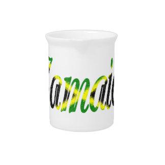 Jamaika Getränke Pitcher