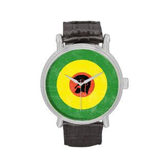 Jamaika-Mod-Ziel-Bügel-Uhr Uhr