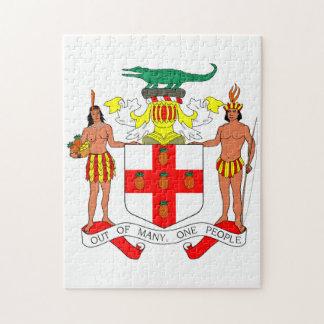 Jamaika-Wappen der Arme Puzzle