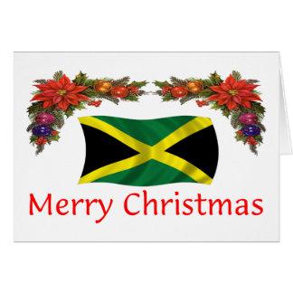 Jamaika-Weihnachten Karte
