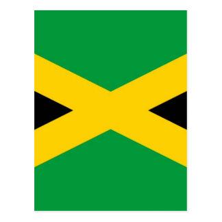 jamaikanisch-Flagge-großes [1] .jpg Postkarte