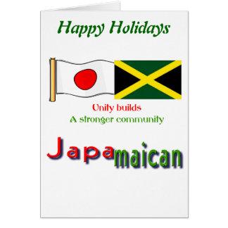 jamaikanisch-japanisch karte