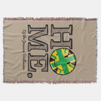 Jamaikanische Art-Gewerkschafts-Jack-Flagge Decke