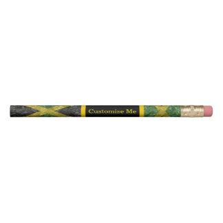 Jamaikanische Flagge - gekrümmt Bleistift