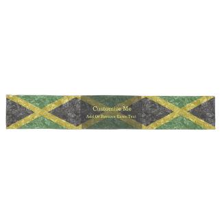 Jamaikanische Flagge - gekrümmt Großer Tischläufer