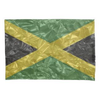 Jamaikanische Flagge - gekrümmt Kissenbezug