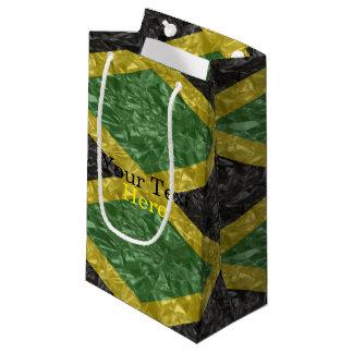 Jamaikanische Flagge - gekrümmt Kleine Geschenktüte