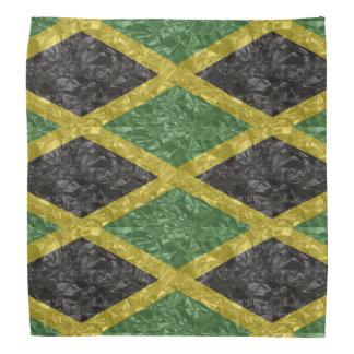 Jamaikanische Flagge - gekrümmt Kopftuch