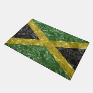 Jamaikanische Flagge - gekrümmt Türmatte