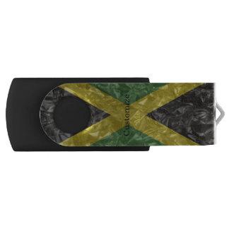 Jamaikanische Flagge - gekrümmt USB Stick