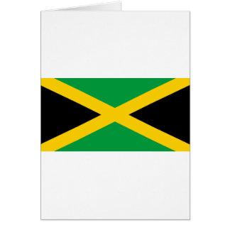 Jamaikanische Flagge Karte