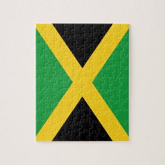Jamaikanische Flagge Puzzle