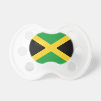 Jamaikanische Flagge Schnuller