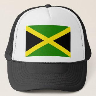 Jamaikanische Flagge Truckerkappe