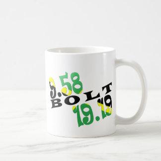 Jamaikanische Flagge Usain Bolts Berlin 2 WR Kaffeetasse