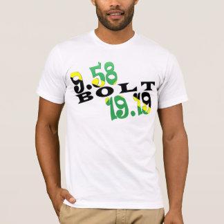 Jamaikanische Flagge Usain Bolts Berlin 2 WR T-Shirt