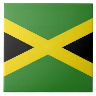 Jamaikanische Flaggen-Fliese Fliese