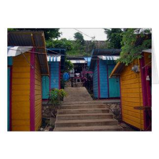 jamaikanische Gebäude Karte