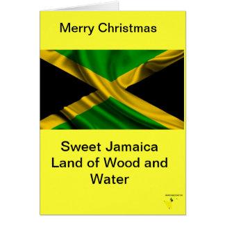 Jamaikanische Geschenk-Karten Karte