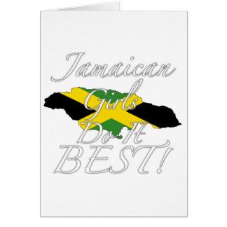 Jamaikanische Mädchen tun es Bestes! Karte