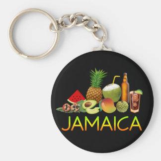 Jamaikanische Nahrung Schlüsselanhänger