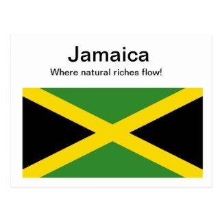Jamaikanische Postkarte