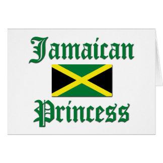 Jamaikanische Prinzessin Karte
