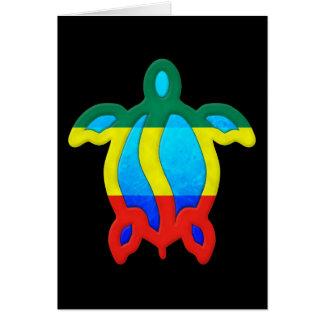Jamaikanische Schildkröte Karte