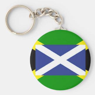 Jamaikanische schottische Flagge - Jamaika - Schlüsselanhänger