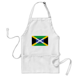 Jamaikanische schottische Flagge - Jamaika - Schürze
