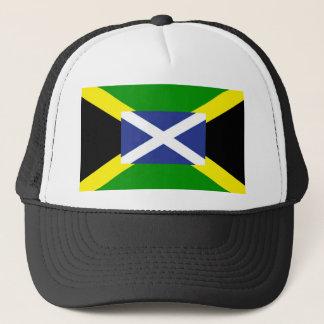 Jamaikanische schottische Flagge - Jamaika - Truckerkappe