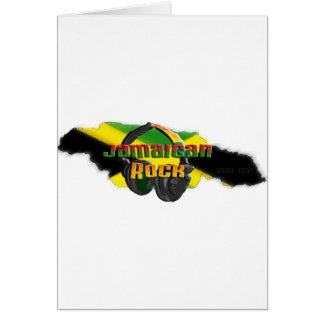 Jamaikanischer Felsen Karte