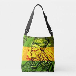 Jamaikanischer Löwe Judah des Querleichensacks Tragetaschen Mit Langen Trägern