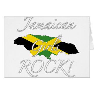 Jamaikanischer Mädchen-Felsen! Karte