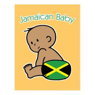 Jamaikanisches Baby Postkarte