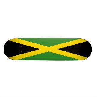 Jamaikanisches Flaggen-Skateboard Personalisiertes Deck